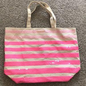 Victoria Secret Sequence Beach Bag